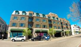Rua da reunião, Charleston, SC Foto de Stock