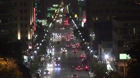 Rua da videira em Los Angeles - lapso de tempo filme