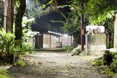 Rua da vila imagem de stock