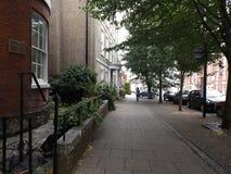Rua da vila Imagem de Stock Royalty Free