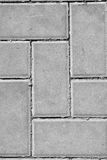 Rua das pedras de pavimentação Foto de Stock Royalty Free