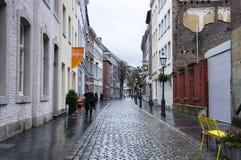 Rua de Aix-la-Chapelle Foto de Stock