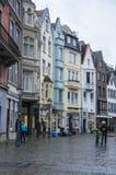 Rua de Aix-la-Chapelle Imagem de Stock Royalty Free
