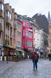 Rua de Aix-la-Chapelle Imagens de Stock