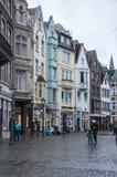 Rua de Aix-la-Chapelle Foto de Stock Royalty Free