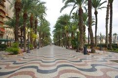 Rua de Alicante Fotos de Stock