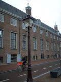 A rua de Amsterdão foto de stock royalty free