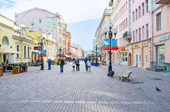 Rua de Arbat Imagem de Stock