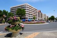 Rua de Arcachon, França Foto de Stock Royalty Free