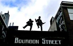 Rua de Bourbon Imagens de Stock Royalty Free