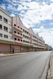 Rua de Bridgetown, Barbados - de Hinks Foto de Stock