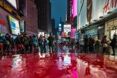 Rua de Broadway em New York Imagens de Stock
