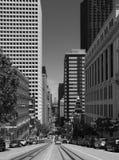 Rua de Califórnia, San Francisco Fotos de Stock