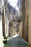Rua de Caprarola, Itália Foto de Stock Royalty Free