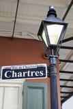 Rua de Chartres Imagem de Stock