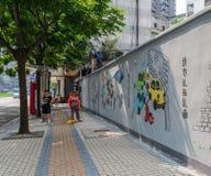 Rua de Chengdu, China imagens de stock royalty free