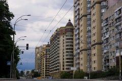 Rua de Chernovola Foto de Stock Royalty Free