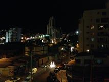 Rua de Cochabamba pelo nitgh Imagens de Stock
