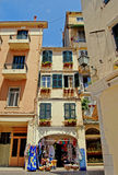 Rua de Corfu Fotografia de Stock