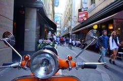 Rua de Degraves - Melbourne Imagens de Stock