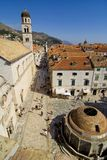A rua de Dubrovnik Imagem de Stock Royalty Free