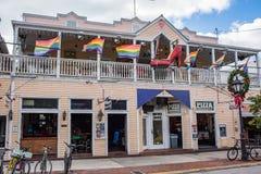 Rua de Duval em Key West, Florida Imagens de Stock Royalty Free