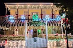 Rua de Duval em Key West, Florida Foto de Stock Royalty Free