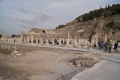 Rua de Ephesus Fotografia de Stock Royalty Free