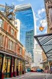 Rua de 20 Fenchurch, aka torre do Walkietalkie, Londres Fotos de Stock Royalty Free