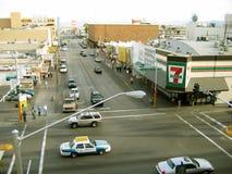 Rua de Freemont, Las Vegas, Nevada, EUA Foto de Stock