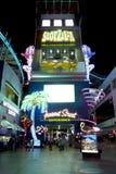 Rua de Fremont - Las Vegas, Nevada Fotografia de Stock
