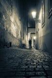 Rua de Ghost Fotos de Stock