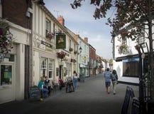 Rua de Glastonbury Northload Imagens de Stock Royalty Free