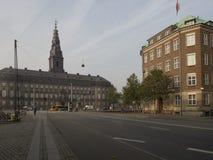 Rua de Homens Kanal, Copenhaga Imagens de Stock Royalty Free