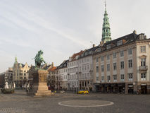Rua de Homens Kanal, Copenhaga Fotografia de Stock