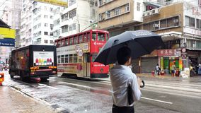 Rua de Hong Kong Fotografia de Stock Royalty Free