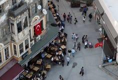 Rua de Istambul, Turquia Fotos de Stock Royalty Free
