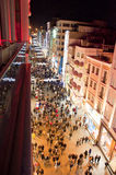 Rua de Istiklal, ?stanbul Turquia Foto de Stock