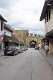 Rua de Jajce Foto de Stock Royalty Free