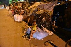 Rua de Kolkata imagem de stock royalty free
