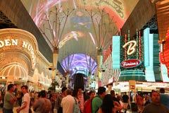 Rua de Las Vegas Fremont foto de stock royalty free