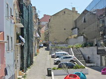 Rua de Lisboa Imagens de Stock Royalty Free