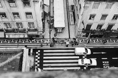 Rua de Lisboa Foto de Stock Royalty Free