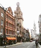 Rua de Londres Imagem de Stock Royalty Free