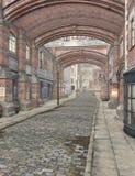 Rua de Londres, 3D CG ilustração royalty free