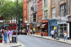 Rua de Londres Dinamarca fotografia de stock royalty free