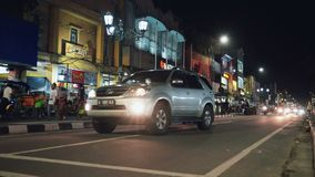 Rua de Malioboro em Jogjakarta, Indonésia filme