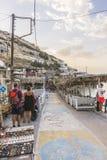 Rua de Matala Imagem de Stock
