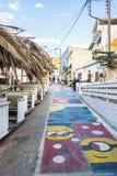 Rua de Matala Fotografia de Stock Royalty Free