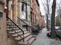 Rua de New York Brooklyn, manhattan Foto de Stock Royalty Free